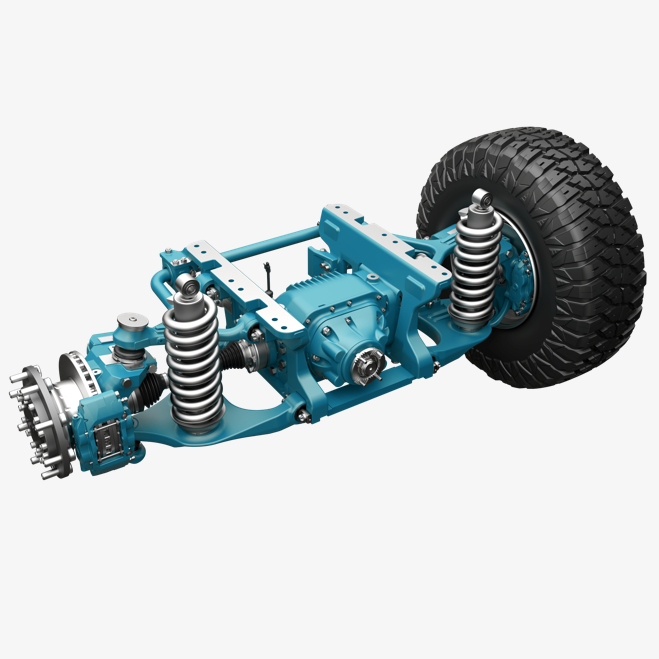 independent suspesion drive axle