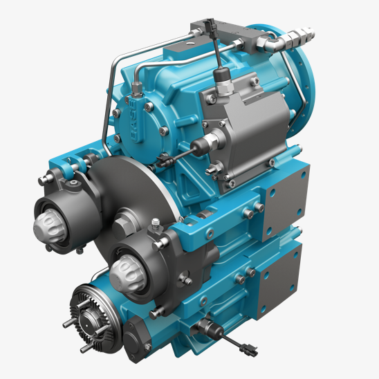 two-speed transfer case